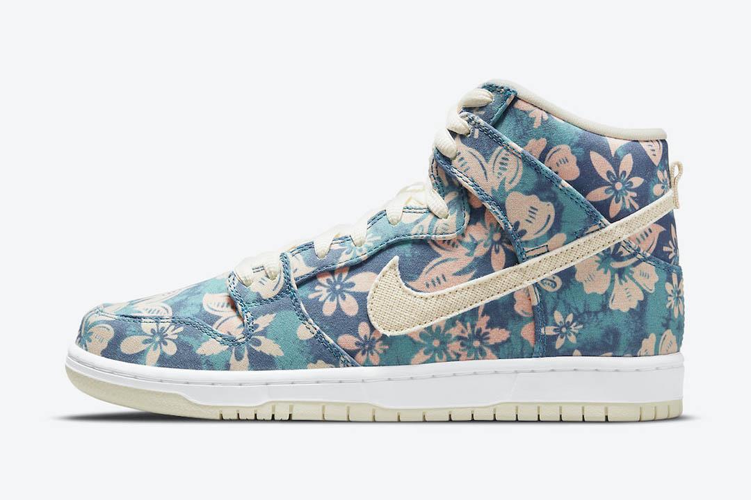 "Nike SB Dunk High ""Hawaii"" CZ2232-300"