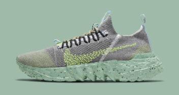 """Nike Space Hippie 01 """"Grey Volt"""" DJ3056-002"""