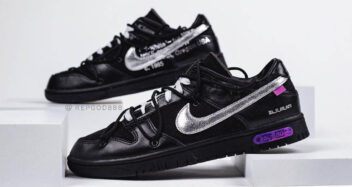 """Off-White x Nike Dunk Low """"The 50"""" DM1602-001"""