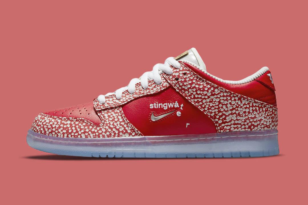 "Stingwater x Nike SB Dunk Low ""Magic Mushroom"" DH7650-600"