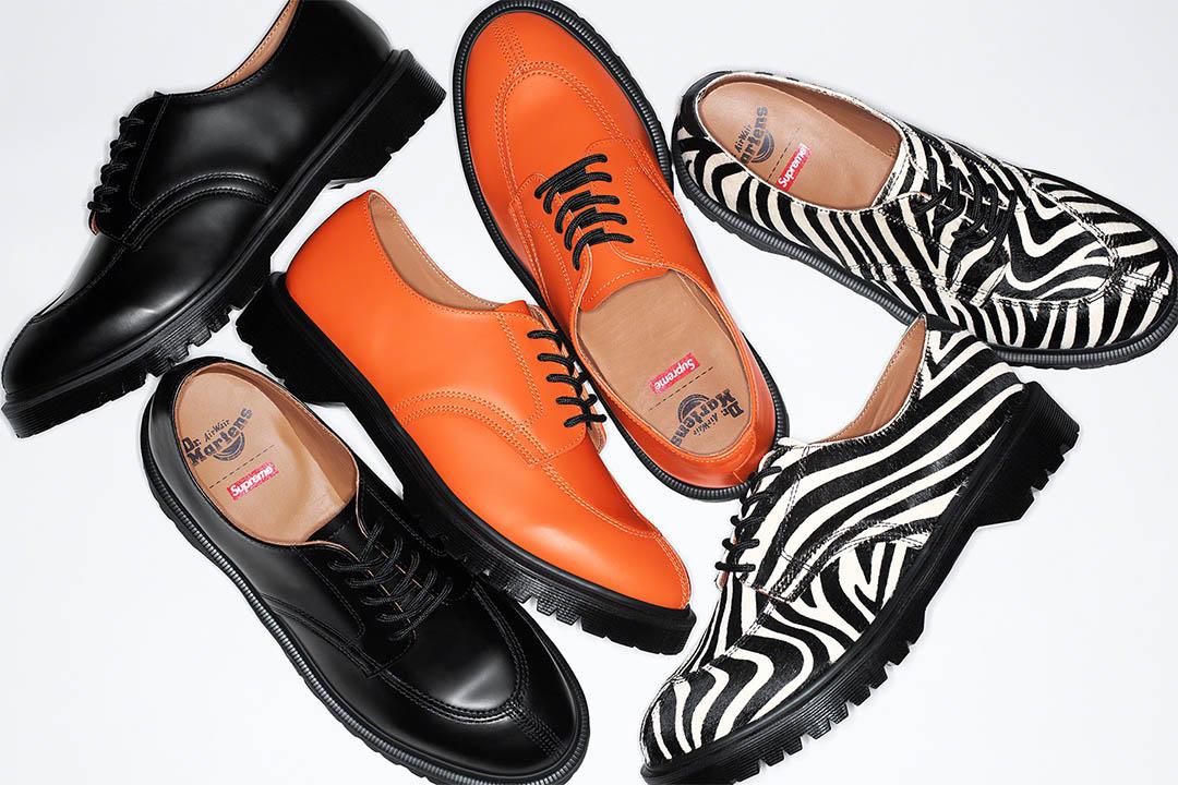 Supreme x Dr. Martens Split Toe 5-Eye Shoe