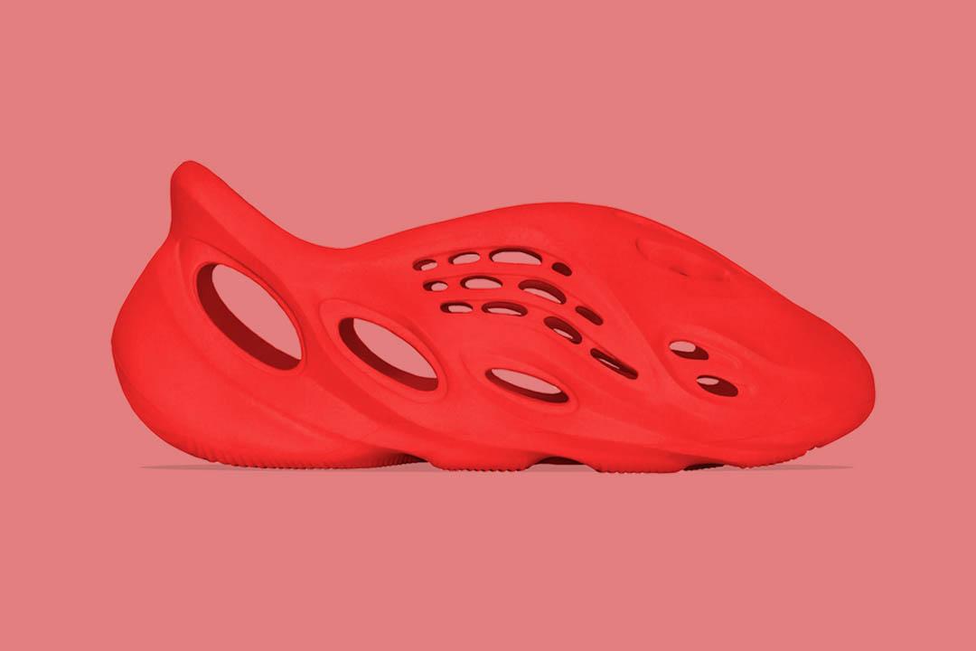 """adidas Yeezy Foam RNNR """"Vermillion"""""""