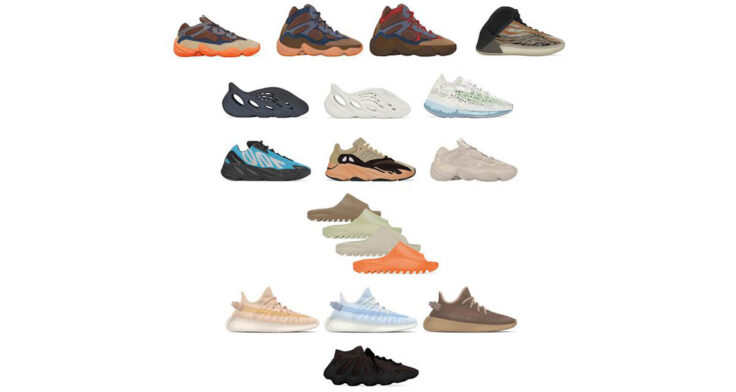 adidas Yeezy May & June Releases