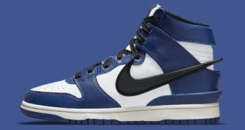 "AMBUSH x Nike Dunk High ""Deep Royal"" CU7544-400"