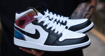 "Air Jordan 1 Mid ""Heat Reactive"""