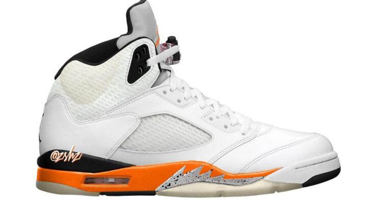 "Air Jordan 5 ""Orange Blaze"" DC1060-100"