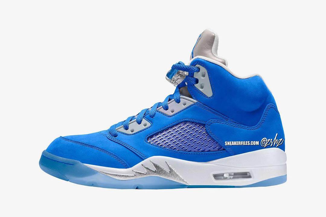Air Jordan 5 Retro WMNS Blue Bird DD9336 400 00