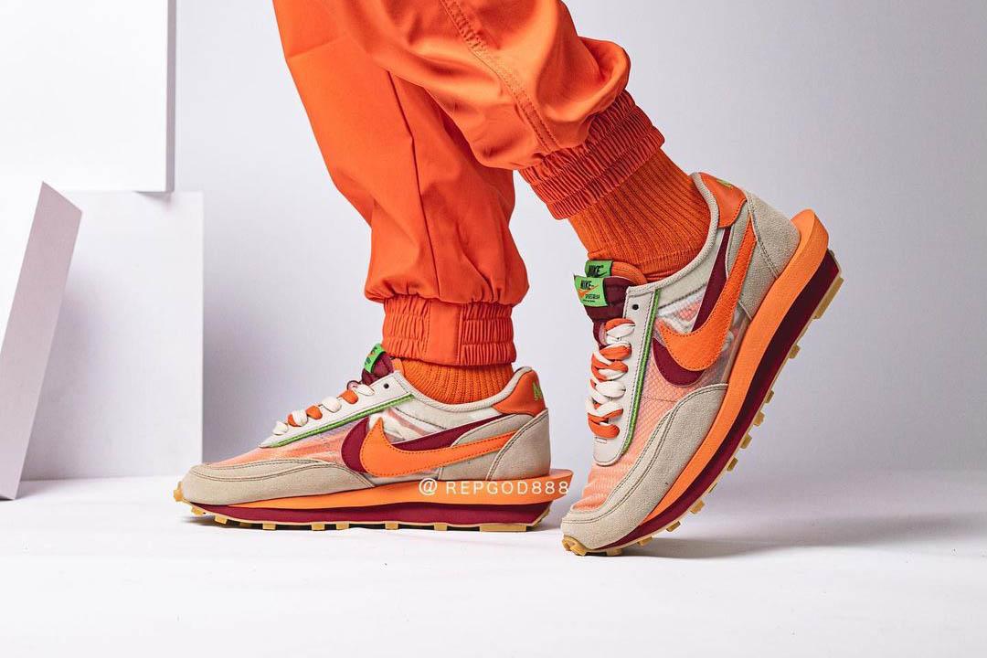CLOT x sacai x Nike LDWaffle DH1347-100