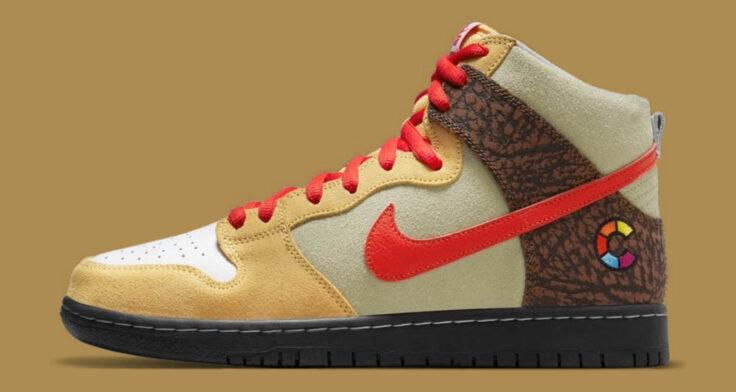 """Color Skates x Nike SB Dunk High """"Kebab and Destroy"""""""
