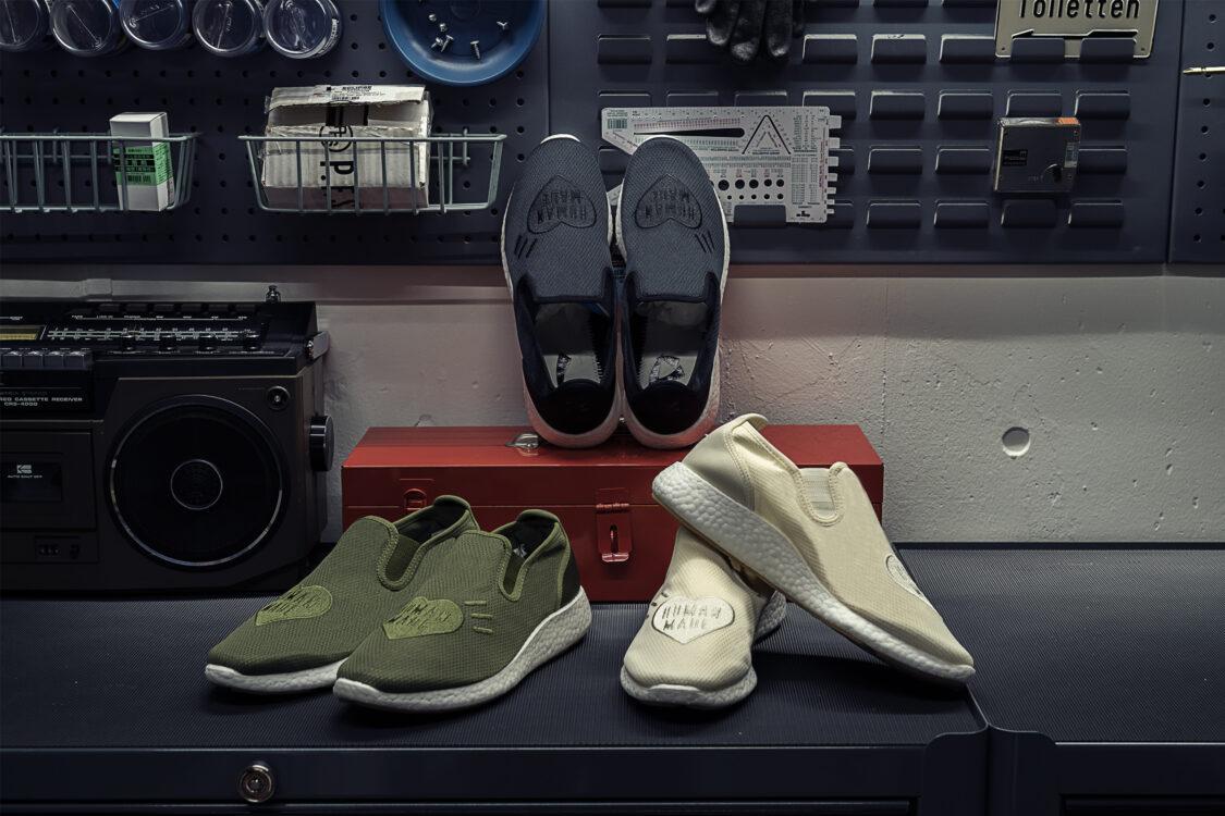 Human Made x adidas SLIPON PURE HM