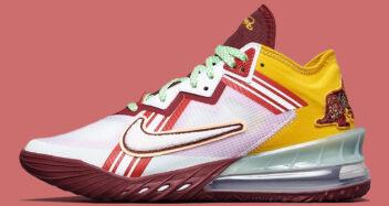 "Mimi Plange x Nike LeBron 18 Low ""Higher Learning"" CV7562-102"