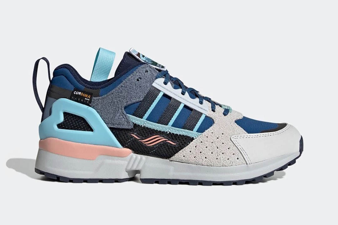 """National Park Foundation x adidas ZX 10000 C """"Crater Lake"""" FY5173"""