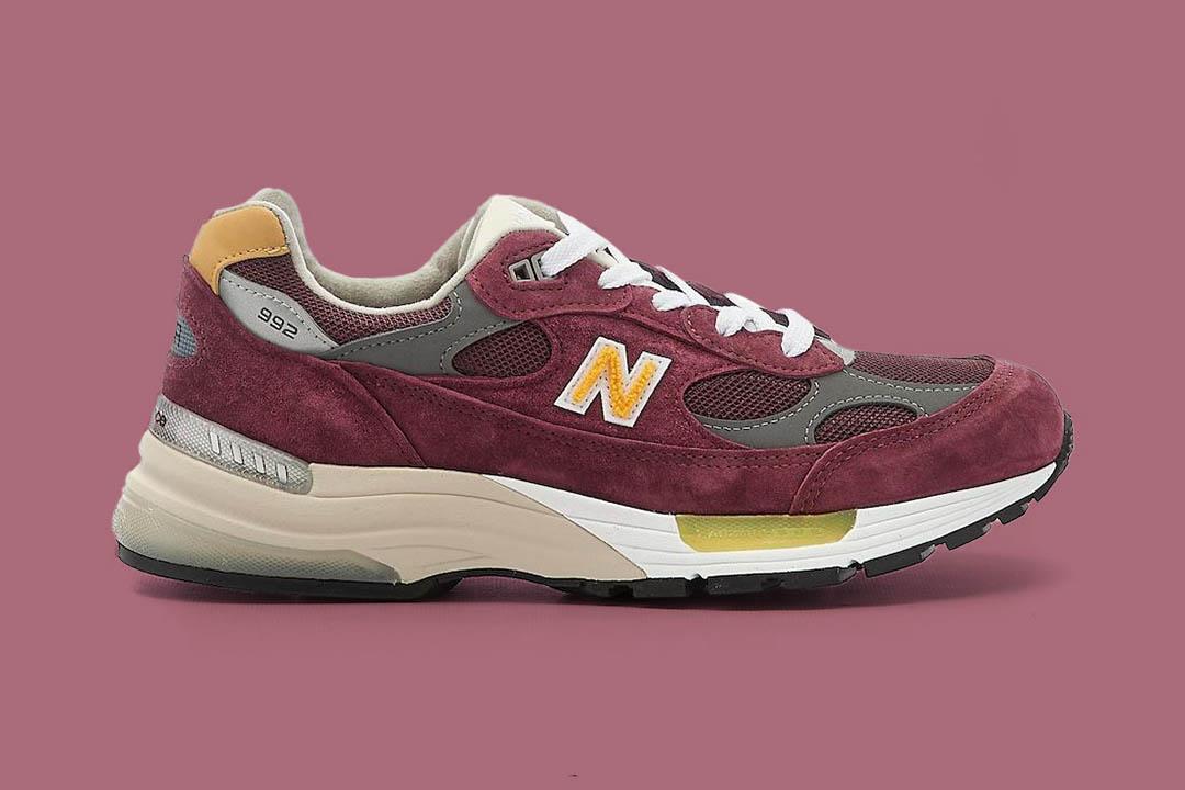 "New Balance 992 ""Burgundy"" M992CA"