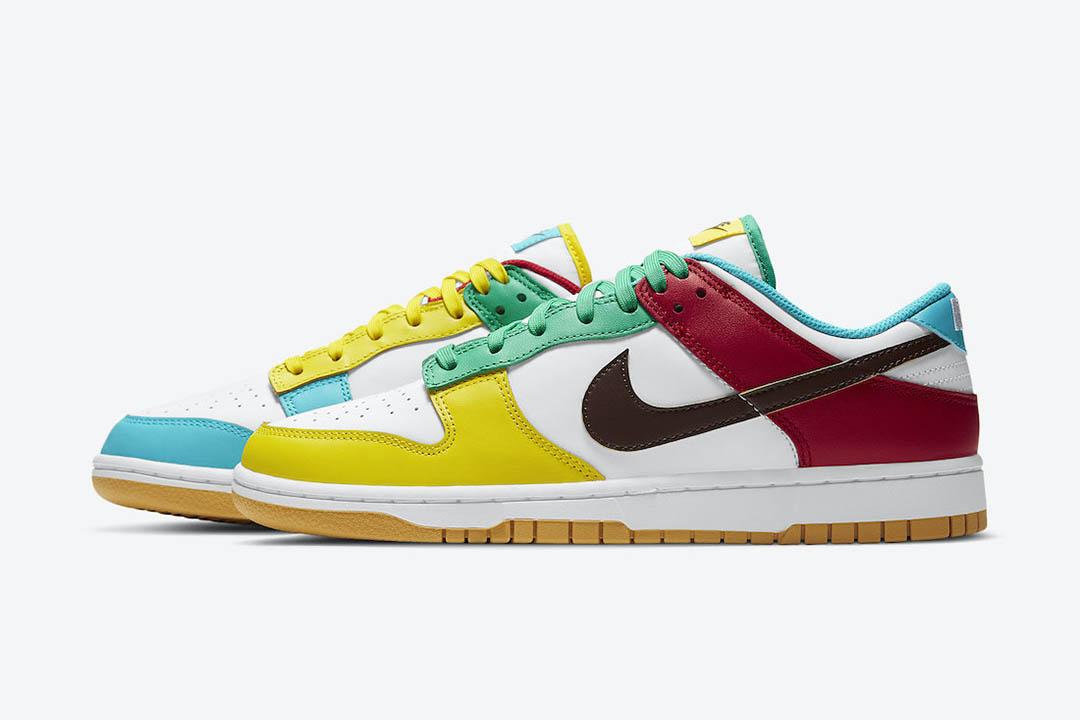 "Nike Dunk Low ""Free 99"" DH0952-100"