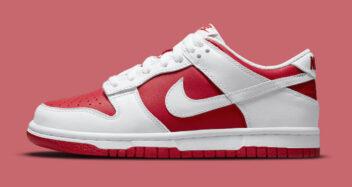 "Nike Dunk Low ""University Red"" DD1391-600"