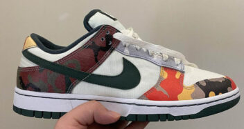 "Nike Dunk Low SE ""Camo"" DH0957-100"