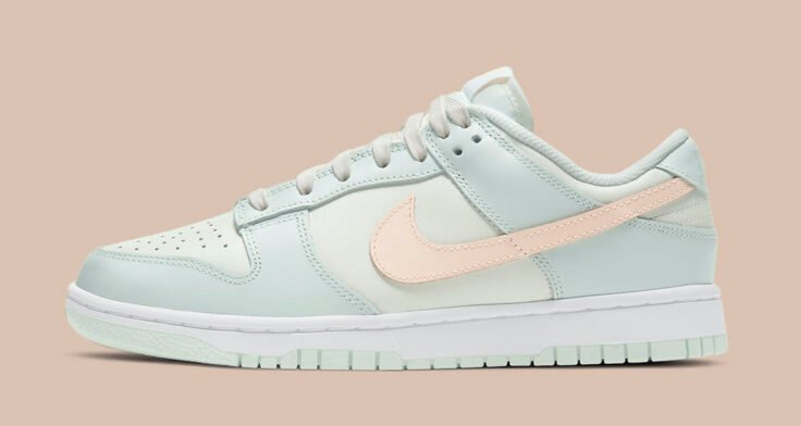 """Nike Dunk Low WMNS """"Barely Green"""" DD1503-104"""
