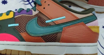 "Nike Dunk Scrap ""Archeo Brown"" DB0500-200"
