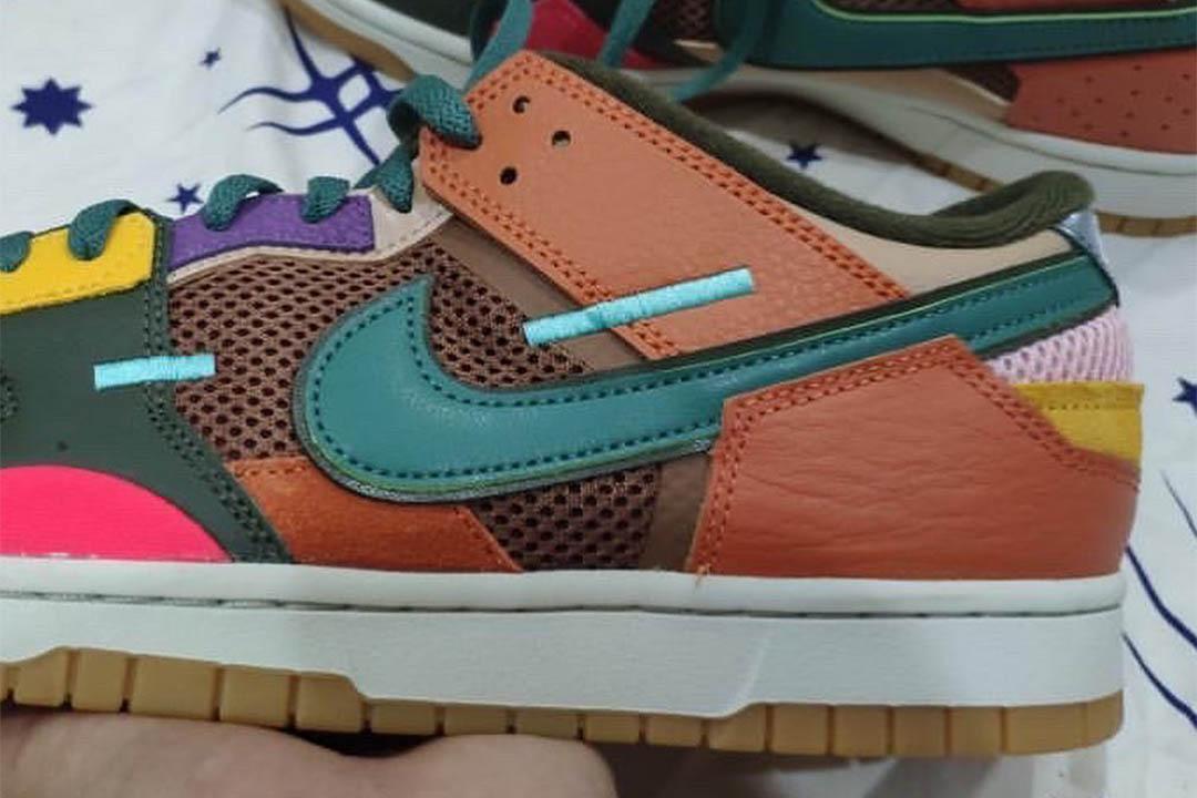 "Nike Dunk Scrap ""Archeo Brown"" DB0500-200"