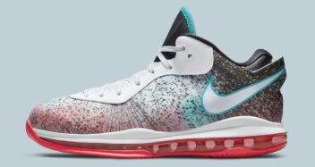 "Nike LeBron 8 V2 Low ""Miami Nights"" 2021 DJ4436-100"