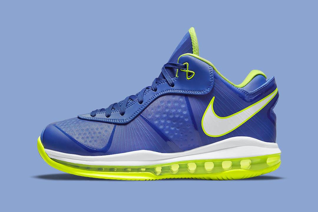 "Nike LeBron 8 V2 Low ""Sprite"" 2021 DN1581-400"