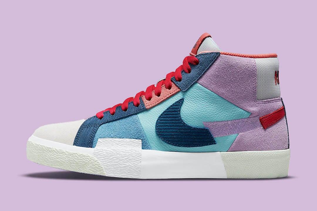 """Nike SB Blazer Mid """"Mosaic Pack"""" DB8854-500"""