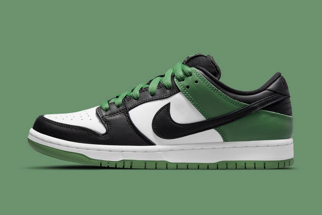"Nike SB Dunk Low ""Classic Green"" BQ6817-302"