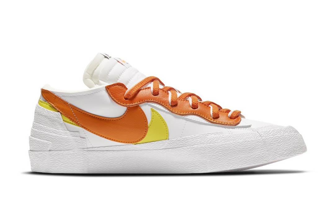 """Sacai x Nike Blazer Low """"Magma Orange"""" DD1877-100"""