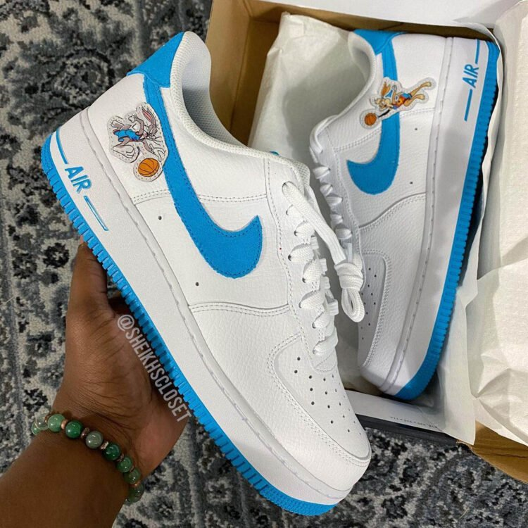 Space Jam Nike Hare Force 1 00 750x750