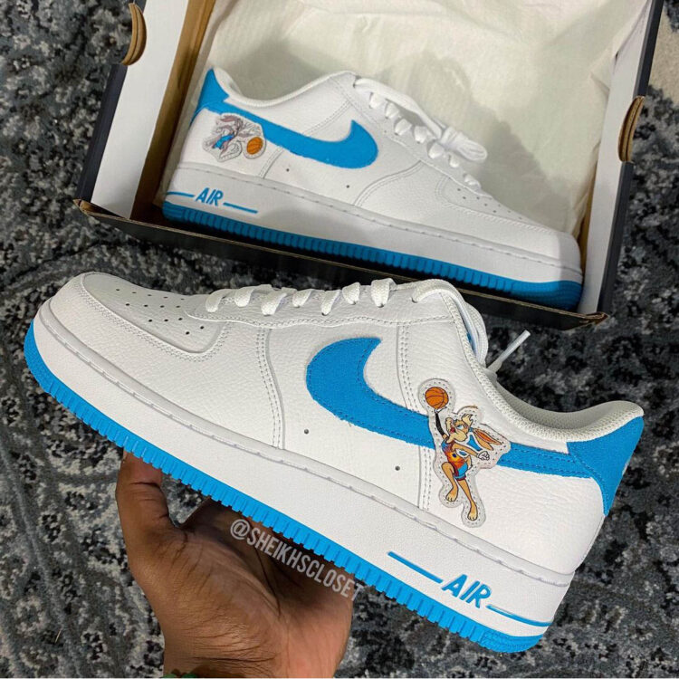 Space Jam Nike Hare Force 1 01 750x750