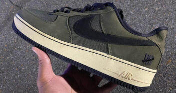 """Undefeated x Nike Air Force 1 """"Ballistic"""""""