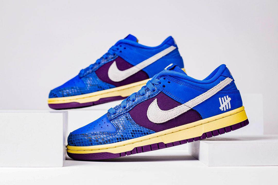 Undefeated x Nike Dunk Low DH6508-400