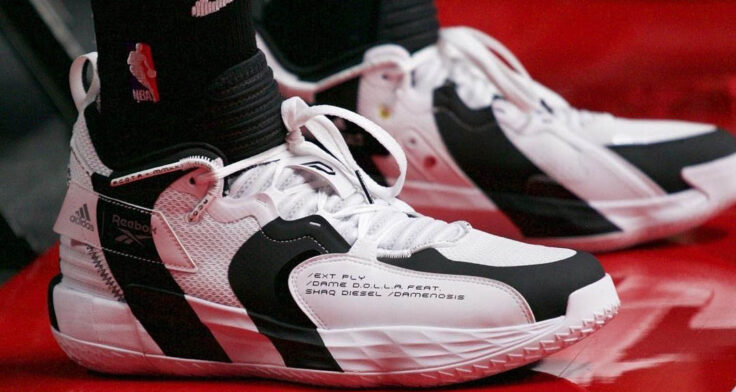 """adidas Dame 7 EXT/PLY """"Damenosis"""" GW2804"""