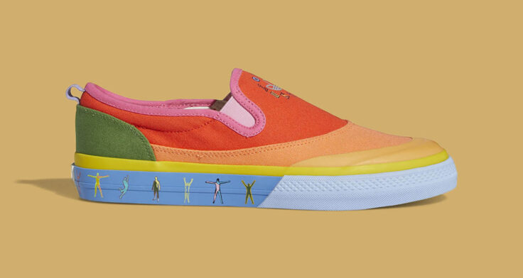 "adidas Nizza Slip-On ""Pride"" GW2421"