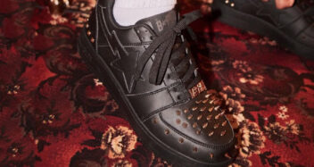 Studded BAPESTA Low Black 1h20-191-020/BAPE