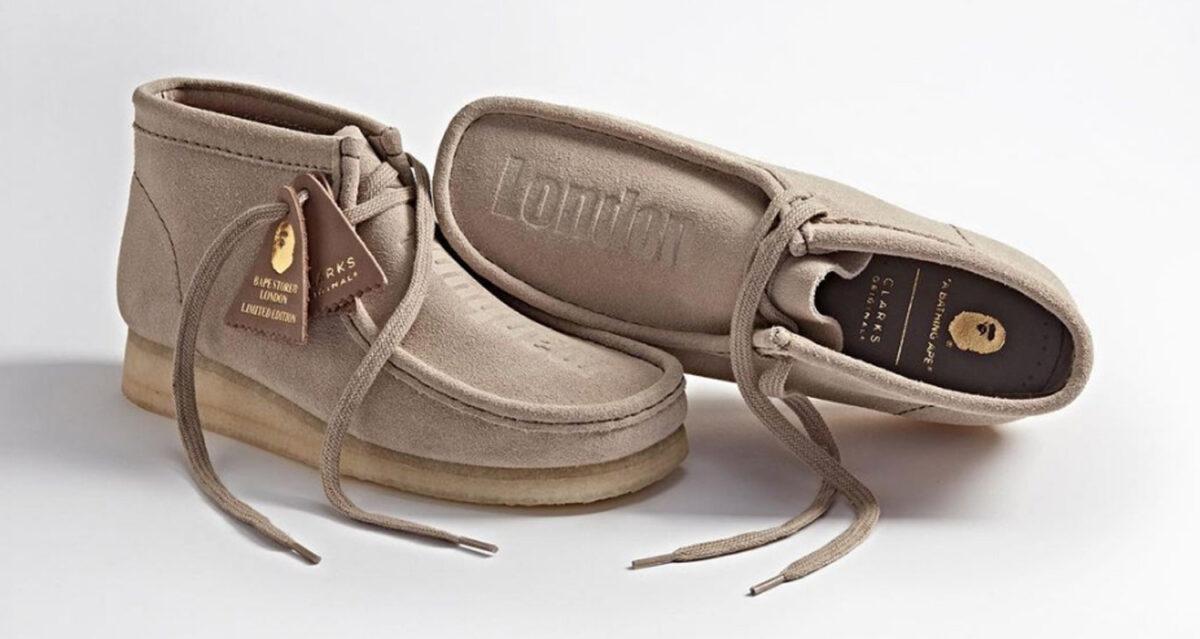 BAPE x Clarks Originals Wallabee Boot