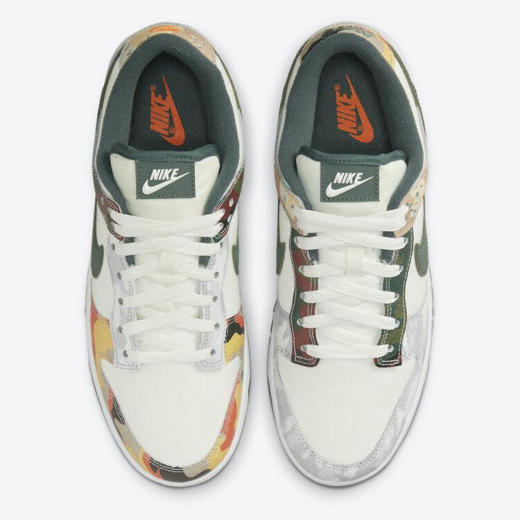 "Nike Dunk Low ""Sail Multi Camo"" DH0957-100"