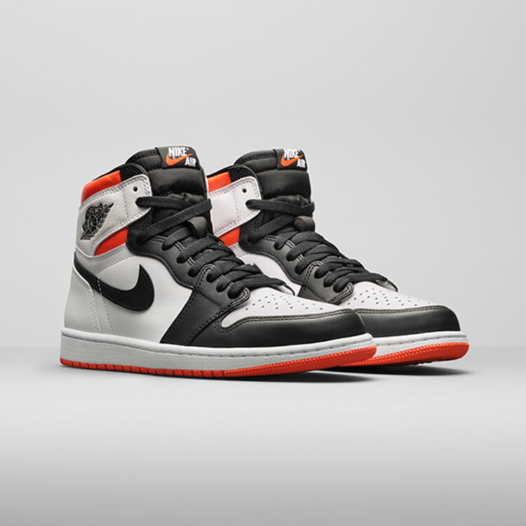 "Air Jordan Retro 1 High OG ""Electro Orange"" 555088-180"