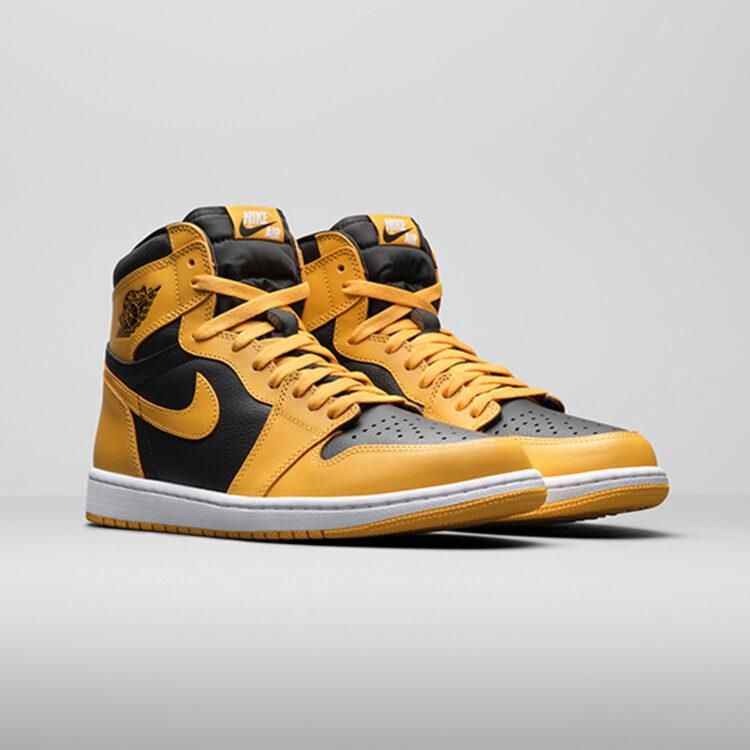 """Air Jordan 1 High OG """"Pollen"""" 555088-701"""