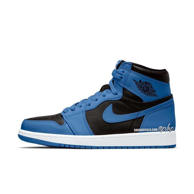 Air Jordan Retro 1 OG High Marina Blue 01