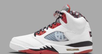 """Air Jordan V """"Quai 54"""" 2021"""