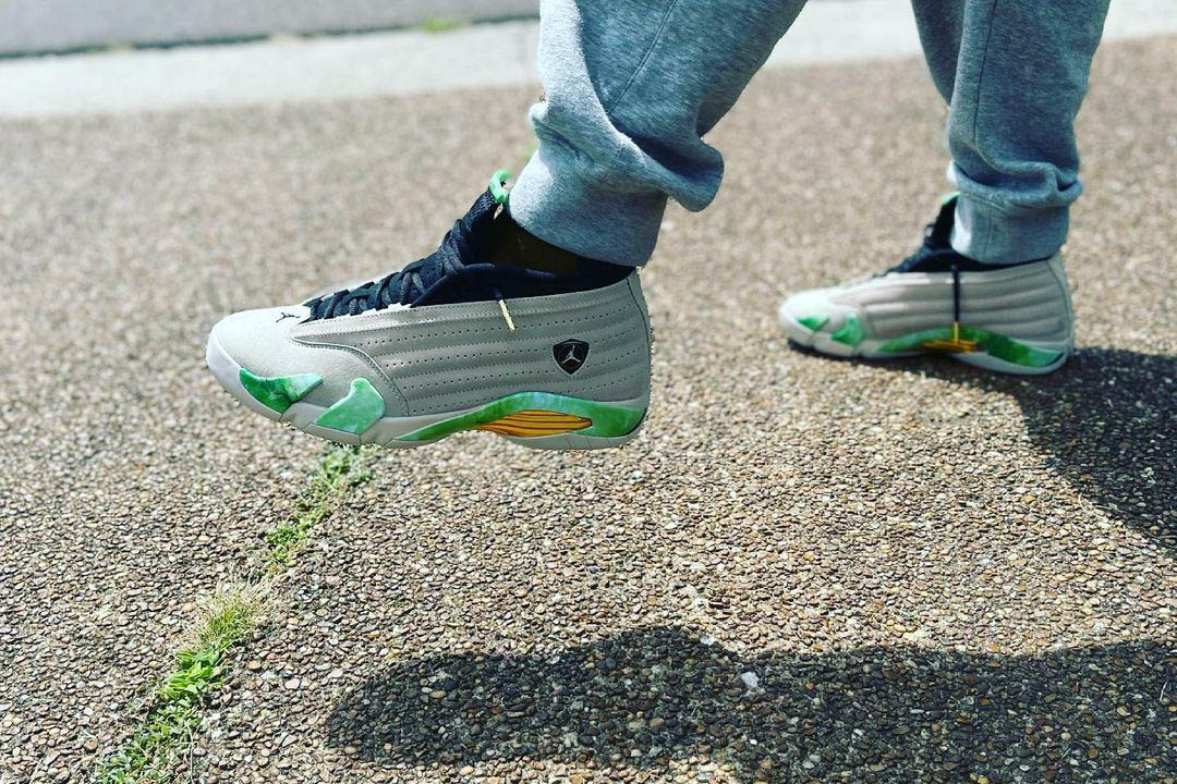 Aleali May x Air Jordan 14 Low DJ1034-200