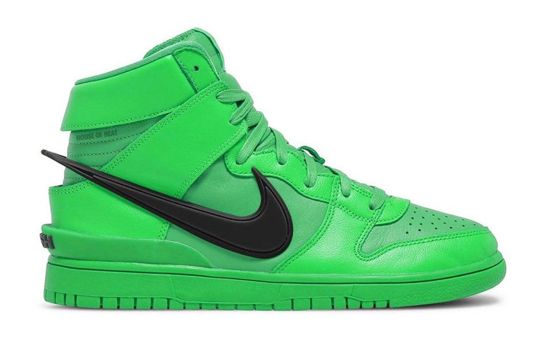 Ambush Nike Dunk High Flash Lime 01 1