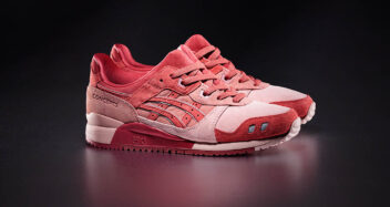 """Concepts x ASICS Gel Lyte III """"Otoro"""" 1203A121-700 & """"4 Days"""" Apparel Collection"""