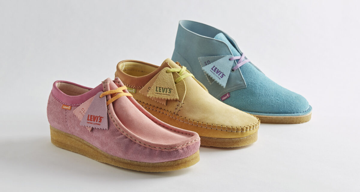 Levi's x Clarks '80s Manchester Collection SS21