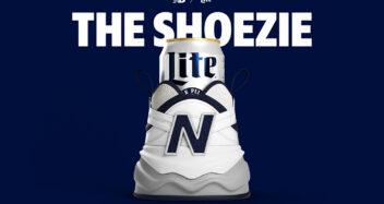 Miller Lite x New Balance Shoezie