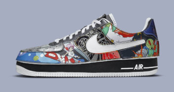 """Nike Air Force 1/1 """"Mighty Swooshers"""" DM5441-001"""