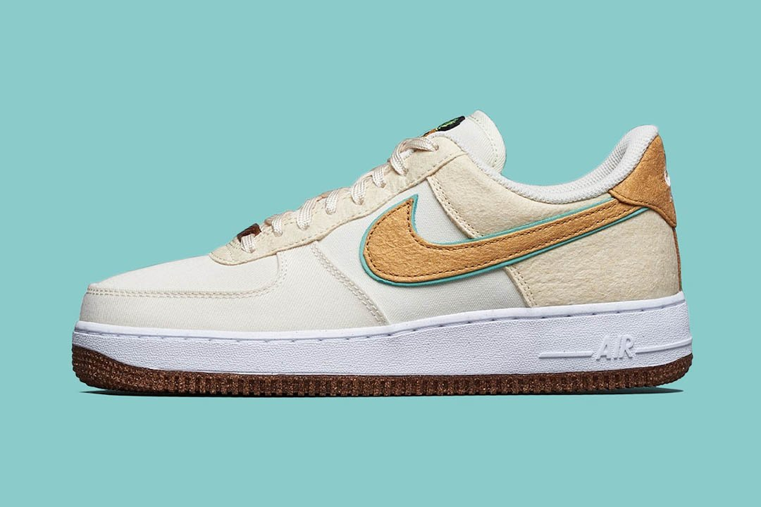 """Nike Air Force 1 Low """"Happy Pineapple"""" CZ1631-100"""