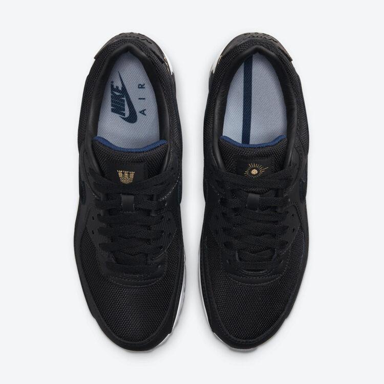 Nike Air Max 90 AIK Fotboll Black Gold DJ4602 001 04 750x750