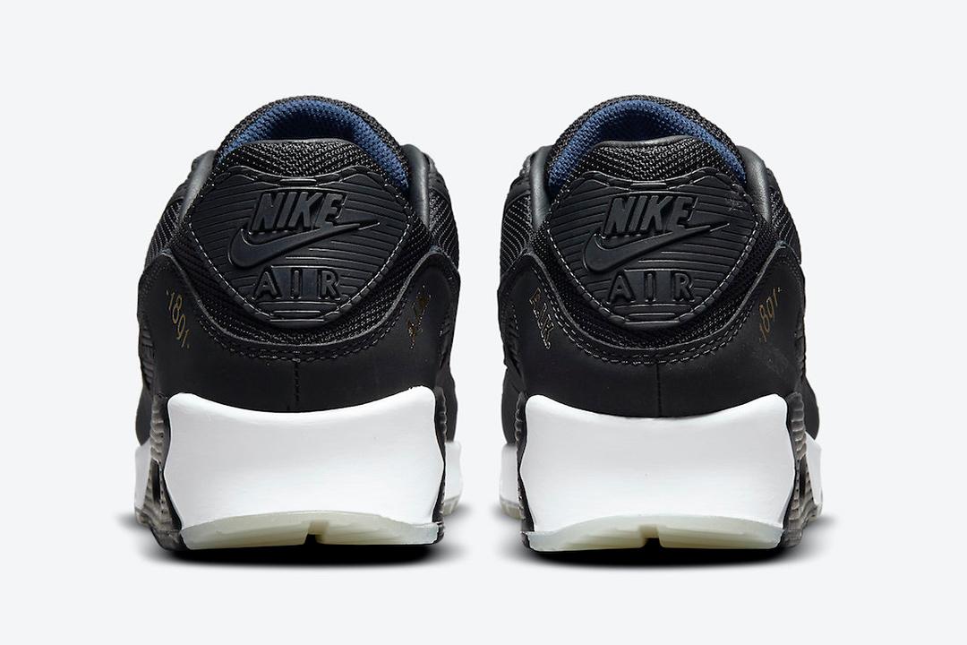 Nike Air Max 90 AIK Fotboll Black Gold DJ4602 001 05